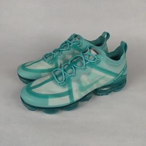 NIKE Air VaporMax 2019 Teal Tint Athletic Shoes 10